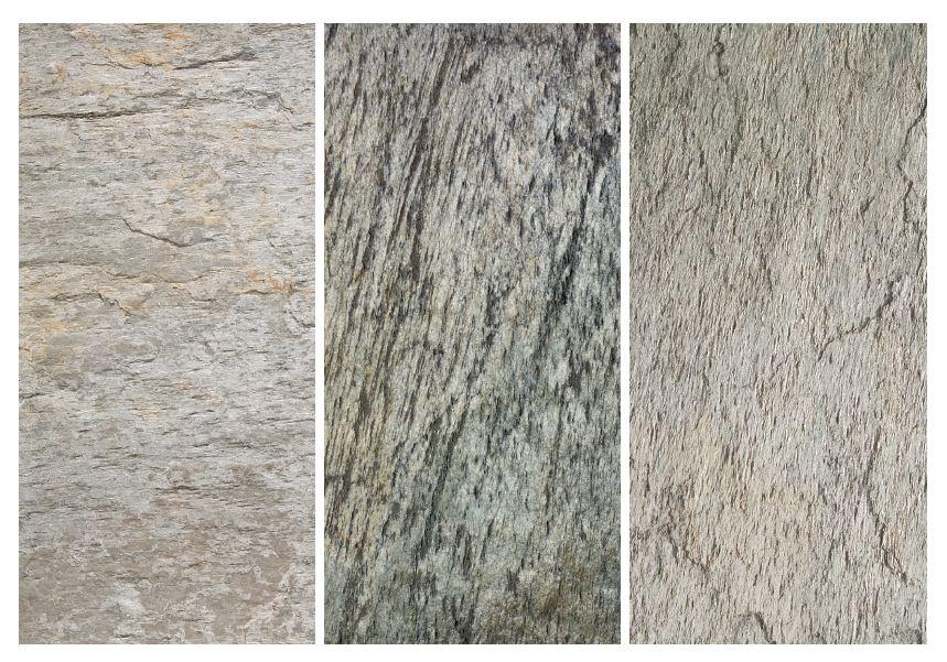 Feuille de pierre naturelle eclact dargent